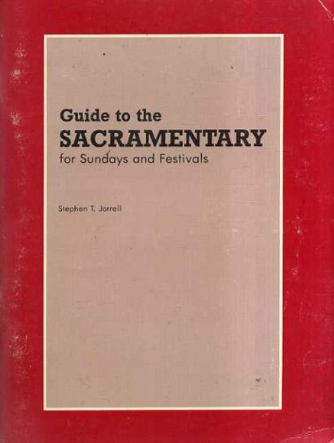 Guide to the Sacramentary for Sundays and