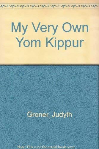 9780930494056: My Very Own Yom Kippur Book
