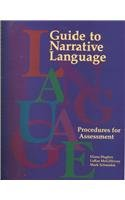 Guide to Narrative Language: Procedures for Assessment: Diana L. Hughes;