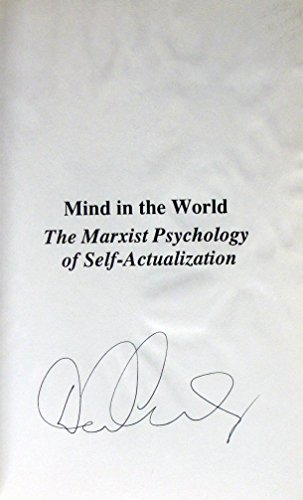 9780930656621: Mind in the World: The Marxist Psychology of Self-Actualization (Studies in Marxism)