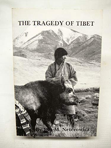 9780930690229: Tragedy of Tibet (Journal of Social, Political and Economic Studies Monograph Ser. : No 19)