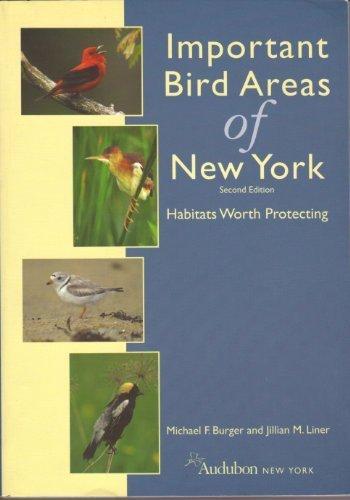 9780930698379: Important Bird Areas of New York! Habitats Worth Protecting!