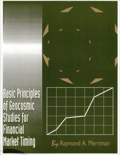 9780930706227: Basic Principles of Geocosmic Studies for Financial Market Timing
