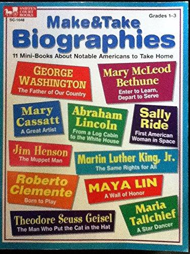 9780930790493: Make & Take Biographies