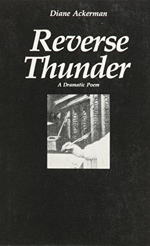 9780930829094: Reverse Thunder: A Dramatic Poem
