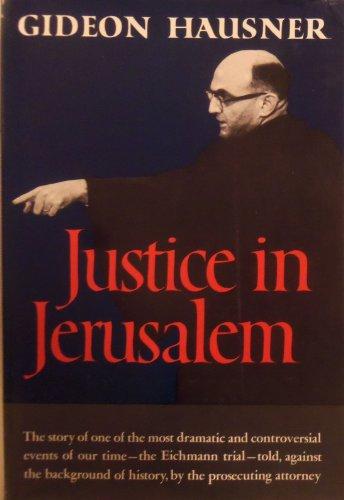 9780930832551: Justice in Jerusalem