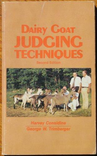 Dairy Goat Judging Techniques: Harvey Considine; George