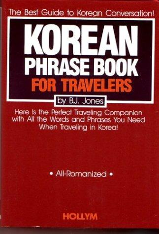 9780930878207: Korean Phrase Book For Travelers