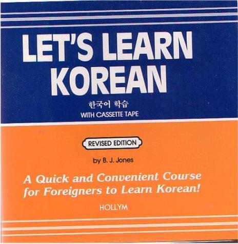 9780930878412: Let's Learn Korean