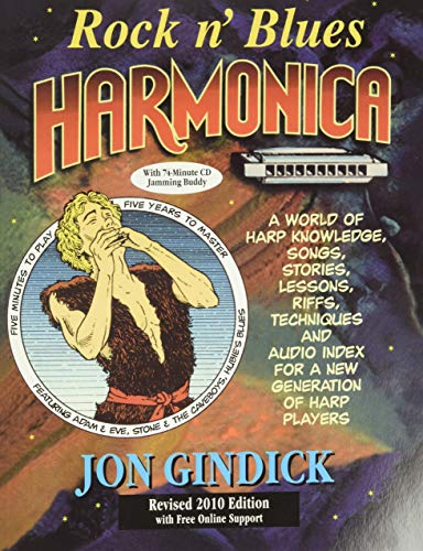 9780930948108: Jon Gindick: Rock 'N' Blues Harmonica (Revised Édition): A World of Harp Knowledge, Songs, Stories, Lessons, Riffs, Techniques and Audio Index for a New Generation of Harp Players