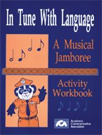 9780930951092: In Tune with Language: A Musical Language Development Kit (Book and Rock / Rap Music CD)