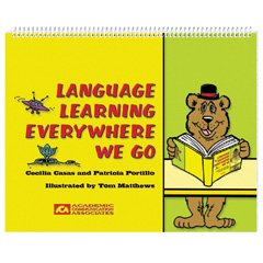 9780930951405: Language Learning Everywhere We Go: English and Spanish Activities for Children