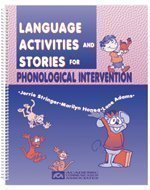 9780930951962: Language Activities and Stories for Phonological Intervention: Speech Therapy Activity Resource for Children