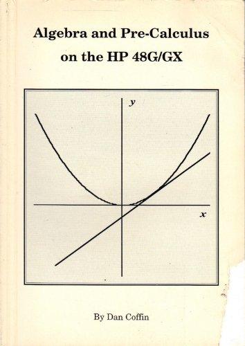 9780931011436: Algebra & Pre-Calculus on the HP 48G/GX