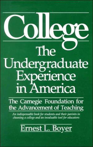 9780931050664: College: The Undergraduate Experience in America