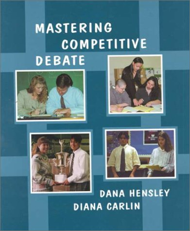 9780931054587: Mastering Competitive Debate