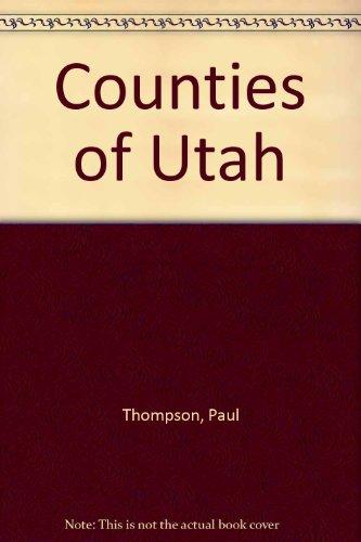 9780931075247: Counties of Utah