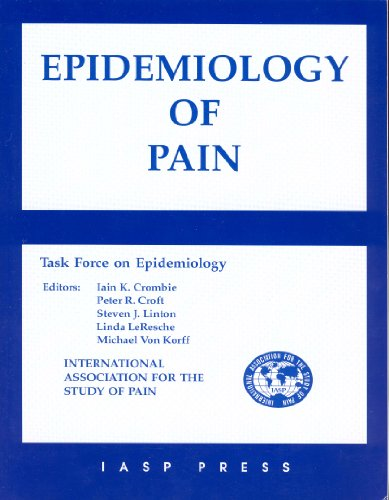 9780931092251: Epidemiology of Pain: A Report of the Task Force on Epidemiology