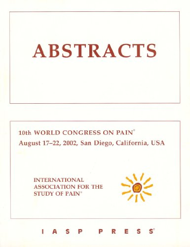 Abstracts: 10th World Congress on Pain, San Diego, California, Usa, August 17-22, 2002: Stopka, ...