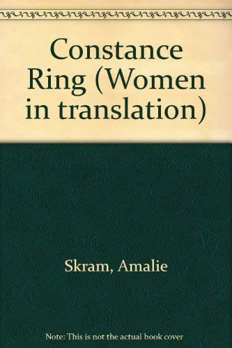 9780931188619: Constance Ring (Women in translation)