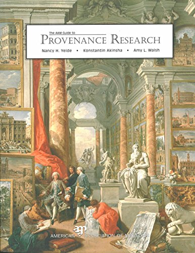9780931201738: Aam Guide to Provenance Research
