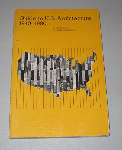 9780931228063: Guide to U. S. Architecture , 1940-1980