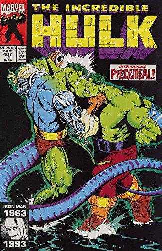 9780931254079: The Incredible Hulk: Introducing Piecemeal! (Vol. 1, No. 407, July 1993)