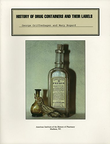 9780931292262: History of Drug Containers and Their Labels (Publication #17 (NS))