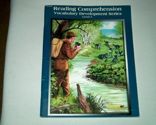 9780931334597: Reading Comprehension, Level 3 CR302B (Vocabulary Development (Edcon))