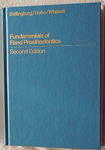 9780931386503: Fundamentals of Fixed Prosthodontics (Quintessence books)