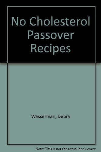 9780931411038: No Cholesterol Passover Recipes