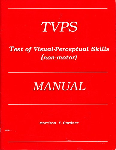 9780931421402: Test of Visual-Perceptual Skills: Non-Motor