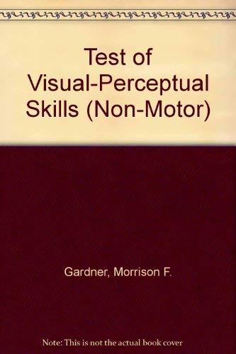 9780931421419: Test of Visual-Perceptual Skills (Non-Motor) Tvps-R