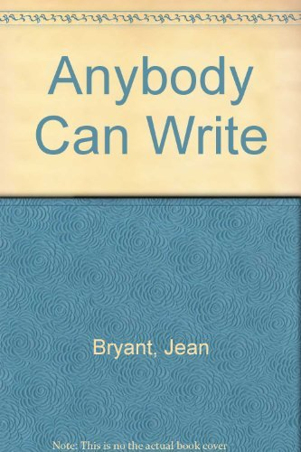 9780931432217: Anybody Can Write: A Playful Approach