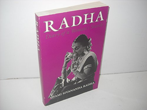 9780931454196: Radha: Diary of a Woman's Search