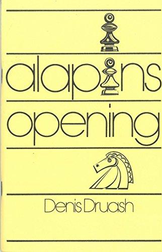 Alapin's Opening: Druash, Denis