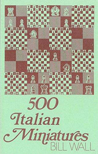 500 Italian Miniatures: Bill Wall