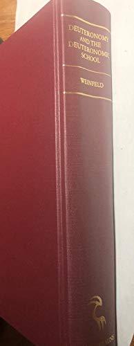 9780931464409: Deuteronomy and the Deuteronomic School