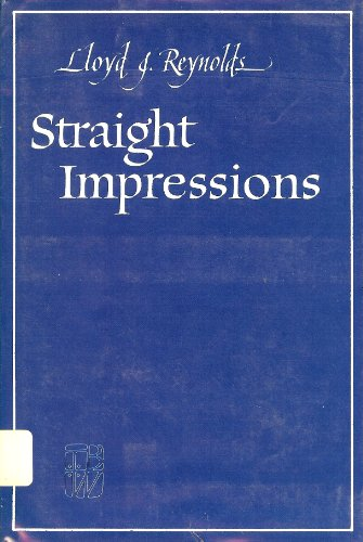 9780931474064: Straight Impressions