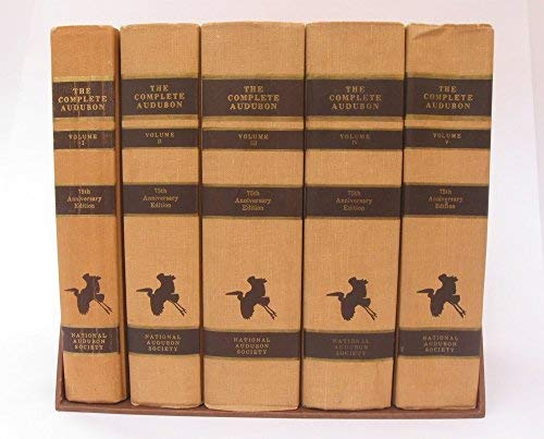 9780931480379: The Complete Audubon: A Precise Replica of the Complete Works of John James Audubon, Comprising the Birds of America (1840-44) and the Quadrupeds of ... (1851-54) in Their Entirety (5 Volumes)