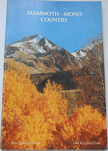 9780931532238: Mammoth-Mono Country