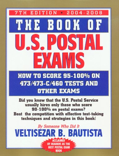 9780931613197 The Book Of U S Postal Exams How To Score