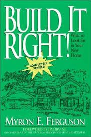9780931625237: Build It Right!/How to Put Value and Quality in Your New Home