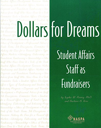9780931654282: Dollars for dreams: Student affairs staff as fundraisers