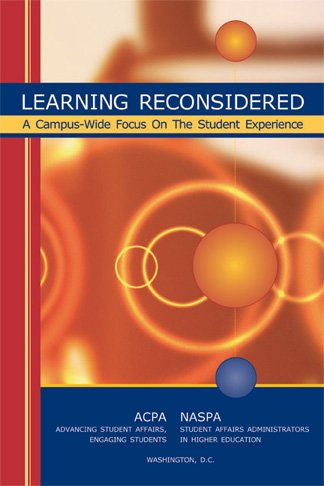 9780931654527: Learning Reconsidered A Campus-wide Focus on the Student Experience