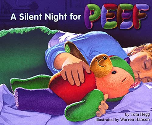 A Silent Night for Peef (Peef the Bear): Hegg, Tom