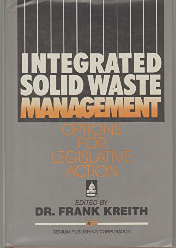 Integrated Solid Waste Management : Options for