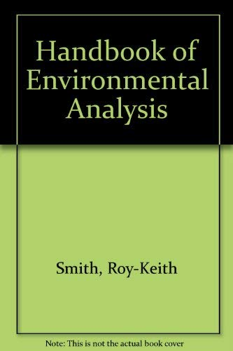 9780931690921: Handbook of Environmental Analysis