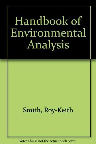 9780931690921: Handbook of Environmental Analysis