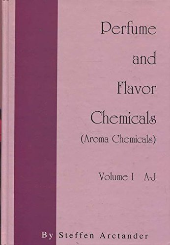 9780931710377: PERFUME AND FLAVOR CHEMICALS (Aroma Chemicals)